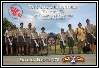 T250 @ Summer Ordeal 2013