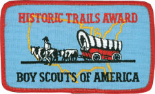 BSA Historic Trails Award