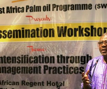 SWAPP (Sustainable West African Palm oil Programme) presents BMP Dissemination Workshop