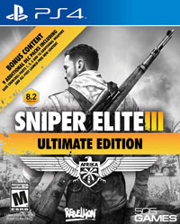 Sniper Elite III Trophy Guide