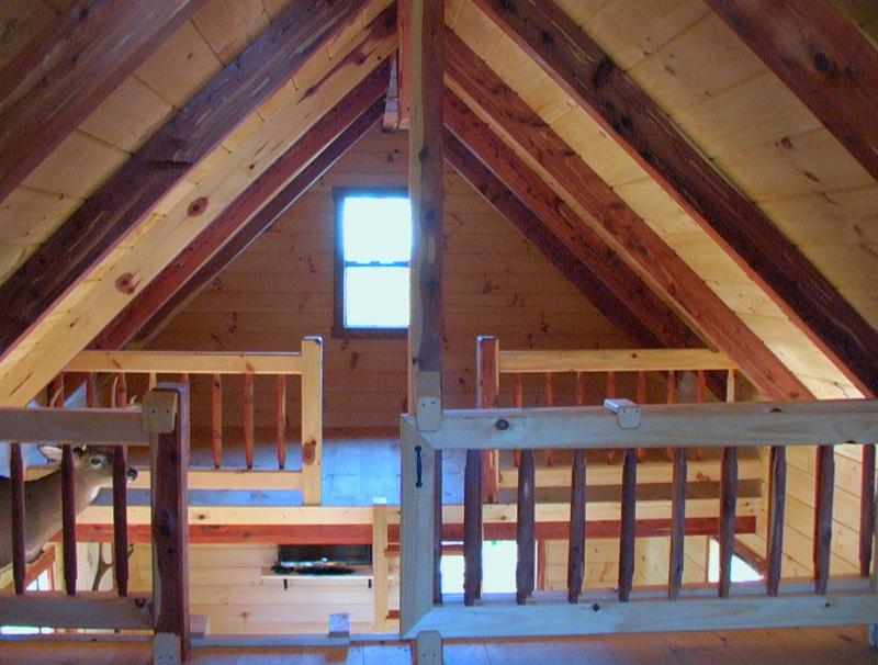 Trophy Amish Cabins LLC XTREME LODGE NO PORCH With 3