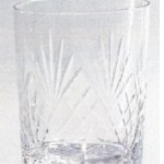 *SALE* 90g Durham Crystal Shot Glass With Engravable Panel