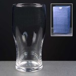 Engraved Pint Beer Glasses Supplied In A Blue Cardboard Gift Box. Price Includes Engraving
