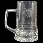 Engraved Stern Glass Tankards. Price Includes Engraving