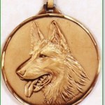Dogs Head Medal 1