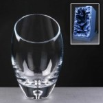Balmoral Engraved Glass Vases Supplied In  A Satin Lined Presentation Box. Price Includes Engraving.