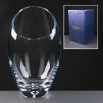 Balmoral Engraved Glass Vases Supplied In A Blue Cardboard Gift Box. Price Includes Engraving