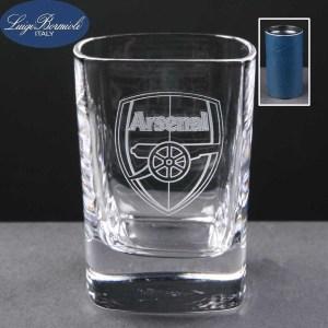 2oz Strauss Shot Glasses In Blue Cardboard Tube