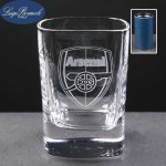 2oz Strauss Shot Glasses In Blue Cardboard Tube