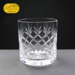 Earle Crystal Whisky Glass With Panel For Engraving