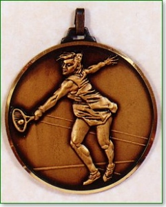 Female Tennis Medal
