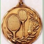 Badminton Medals 1