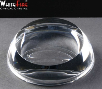 Whitefire Sliced Dome Crystal Engraved Paperweights Supplied In A Velvet Lined Presentation Case. Price Includes Engraving.