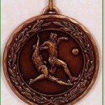 Football Medal - 50mm