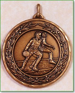 50mm Basketball Medals