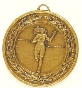 Female Running Medal - 50mm