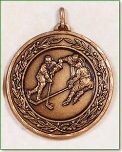 Ice Hockey Medal - 50mm