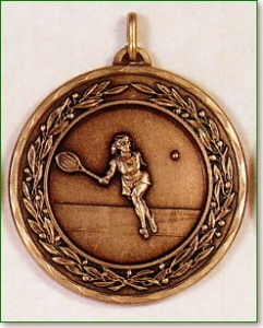 Female Tennis Medal