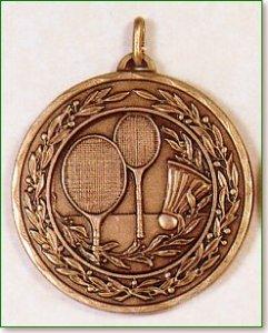 50mm Badminton Medals
