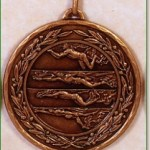 Swimming Medal - 50mm