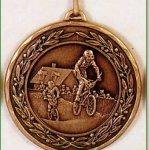 50mm BMX Medals 1