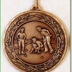 Lawn Bowls Medal - 50mm