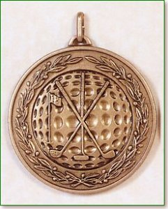 Golf Medal - 50mm