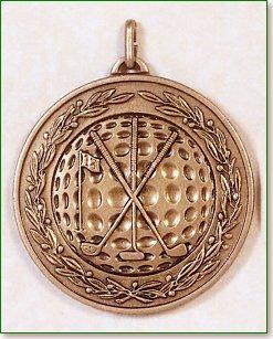 Golf Medal - 50mm