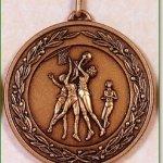 Netball Medal - 50mm