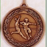 Girls Football Medal - 50mm
