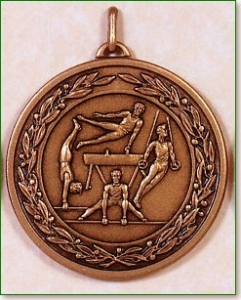 Gymnastics Medal - 50mm