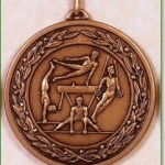 Gymnastics Medal – 50mm 1