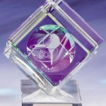 Cube Golf Trophies