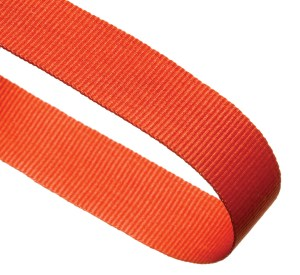 Orange Woven Medal Ribbons With Clip