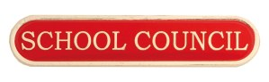 School Council Badges - Available In Red, Blue Green and Yellow