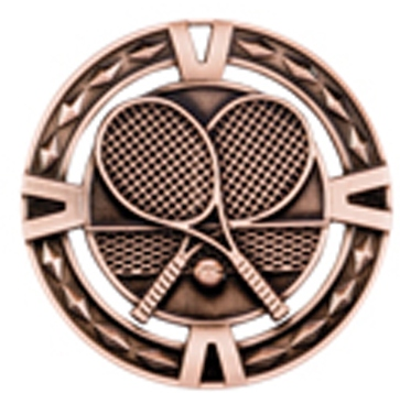 60mm Tennis Medals