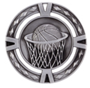 60mm Basketball  Medals