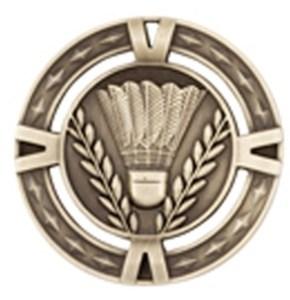 60mm Badminton Medals