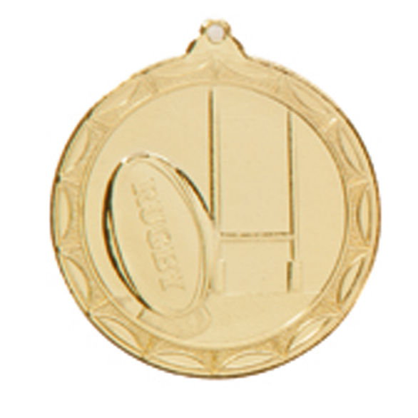 50mm Rugby Medals