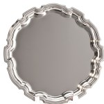 Heavy Nickel Plated Salvers