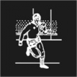 Rugby Player Logo