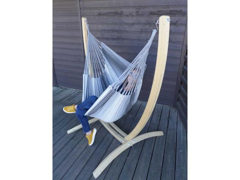 hamac chaise avec support paquito et