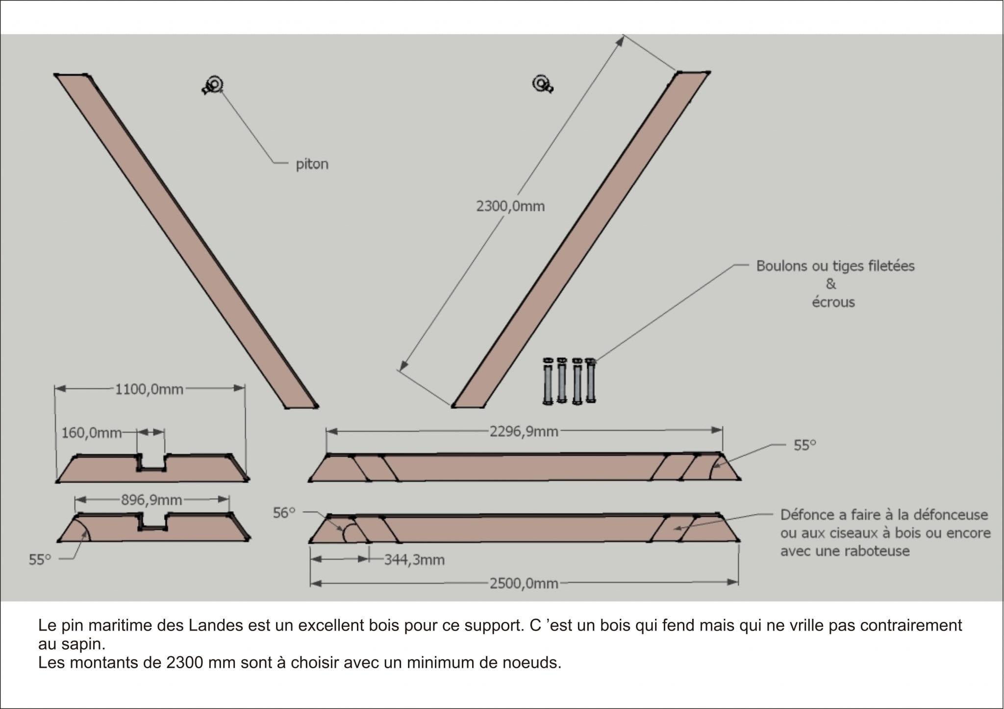 comment fabriquer un support de hamac