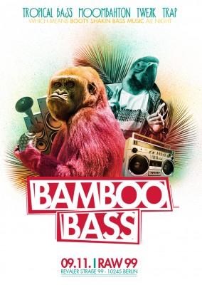 Bamboo Bass Berlin Flyer November
