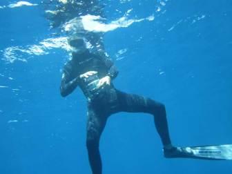 Captain Gene of Conscious Breath Adventures in his natural environment