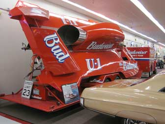 Miss Budweiser Hydroplane at Muscle Car City