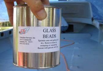 Nonskid Glass Beads