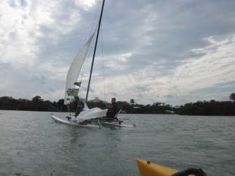 Hobie 16 In Channel