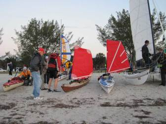 Sailing Kayaks and Hobie 16