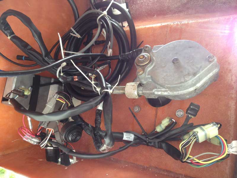 repowering the old pontoon boat tropical boating engine wiring harness